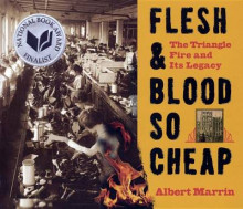 Flesh & Blood So Cheap av Albert Marrin (Innbundet)