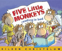 Five Little Monkeys Reading in Bed av Eileen Christelow (Innbundet)