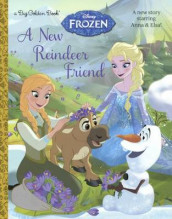A New Reindeer Friend av Jessica Julius og Random House Disney (Innbundet)