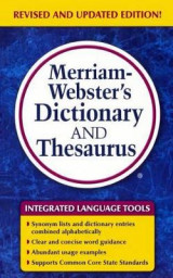 Omslag - Merriam-Webster's Dictionary and Thesaurus