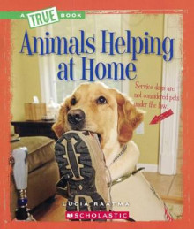 Animals Helping at Home av Lucia Raatma (Innbundet)