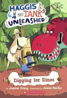Digging for Dinos av Jessica Young (Innbundet)