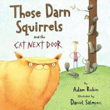 Those Darn Squirrels and the Cat Next Door av Adam Rubin (Innbundet)