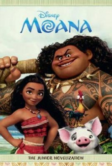 Moana Junior Novelization av Random House Disney (Innbundet)