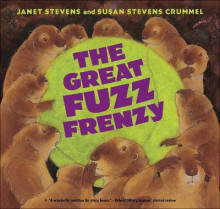 The Great Fuzz Frenzy av Janet Stevens (Innbundet)