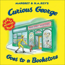 Curious George Goes to a Bookstore av H A Rey (Innbundet)