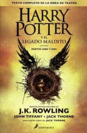 Harry Potter Y El Legado Maldito (Harry Potter & the Cursed Child) av Jack Thorne (Innbundet)