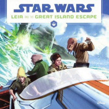 Leia and the Great Island Escape av Jason Fry (Innbundet)