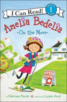 Amelia Bedelia on the Move av Herman Parish (Innbundet)