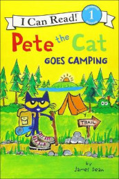 Pete the Cat Goes Camping av James Dean (Innbundet)