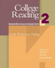 College Reading 2 av Linda Robinson Fellag (Heftet)