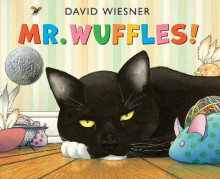 Mr. Wuffles! av David Wiesner (Innbundet)