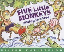 Five Little Monkeys Sitting in a Tree av Eileen Christelow (Heftet)