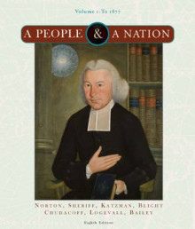A People and a Nation: To 1877 v. 1 av Mary Beth Norton, David M. Katzman, Frederick Logevall, David W. Blight, Howard P. Chudacoff, Carol Sheriff, Beth Bailey, Thomas G. Paterson og William M. Tuttle (Heftet)