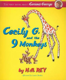 Curious George: Cecily G. and the Nine Monkeys: Book and Cd Set av H.A Rey (Heftet)