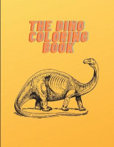 Omslag - The Dino Coloring Book