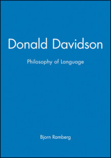 Donald Davidson's Philosophy of Language av Bjorn Ramberg (Innbundet)