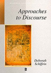 Approaches to Discourse av Deborah Schiffrin (Heftet)