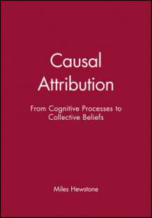 Causal Attribution av Miles Hewstone (Heftet)