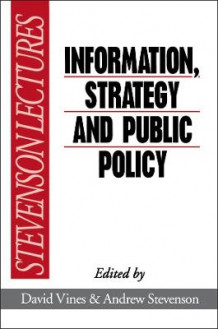 Information, Strategy and Public Policy (Innbundet)