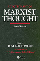 A Dictionary of Marxist Thought av Tom Bottomore (Heftet)