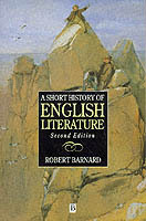 A Short History of English Literature av Robert Barnard (Heftet)