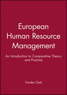 European Human Resource Management (Innbundet)