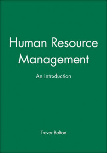 Human Resource Management av Trevor Bolton (Heftet)
