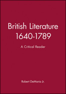 British Literature, 1640-1789 (Innbundet)