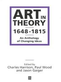 Art in Theory 1648-1815 (Heftet)