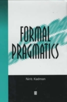 Formal Pragmatics av Nirit Kadmon (Heftet)