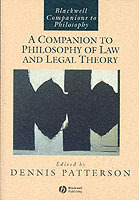 A Companion to Philosophy of Law and Legal Theory (Heftet)