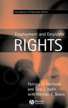 Employment and Employee Rights av Patricia H. Werhane, Tara J. Radin og Professor Norman E. Bowie (Innbundet)