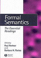 Formal Semantics (Heftet)