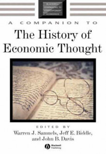 A Companion to the History of Economic Thought (Innbundet)