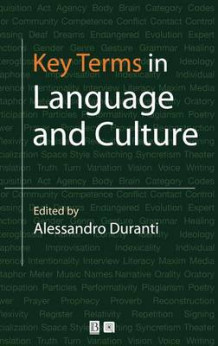Key Terms in Language and Culture (Innbundet)