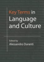 Key Terms in Language and Culture (Heftet)