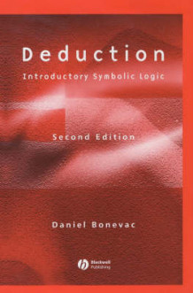 Deduction av Daniel Bonevac (Innbundet)