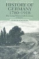 History of Germany, 1780-1918 av David Blackbourn (Heftet)