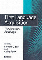 First Language Acquisition (Heftet)