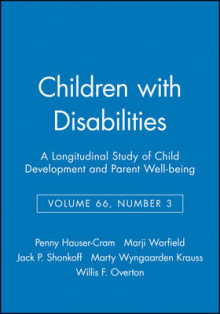 Children with Disabilities av Penny Hauser-Cram, Marji Warfield, Jack P. Shonkoff og Marty Wyngaarden Krauss (Heftet)