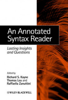 An Annotated Syntax Reader (Innbundet)