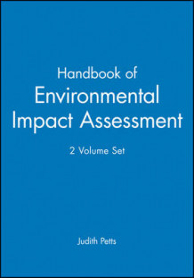 Handbook of Environmental Impact Assessment (Innbundet)