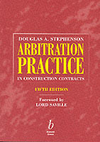 Arbitration Practice in Construction Contracts av Douglas A. Stephenson (Heftet)