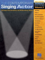 Omslag - The Contemporary Singing Actor, Volume 2, Women's Edition