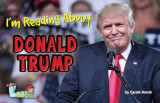 Omslag - I'm Reading about Donald Trump