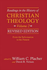 Omslag - Readings in the History of Christian Theology: Volume 2
