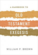 Omslag - A Handbook to Old Testament Exegesis