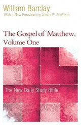 Omslag - The Gospel of Matthew, Volume One