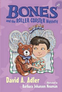 Bones and the Roller Coaster Mystery av David A Adler (Innbundet)